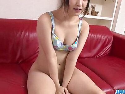 Perky tits Tsuna Kimura fucked with toys