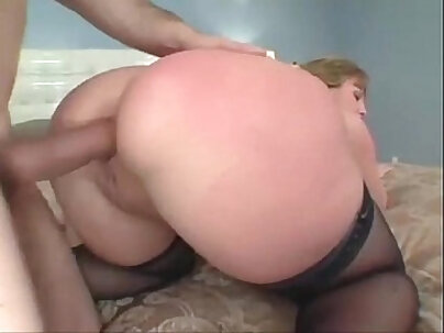 Round and heavy butt riding movie