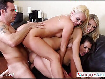 Aaliyah Love vs Mick Blue in a Hard Threesome