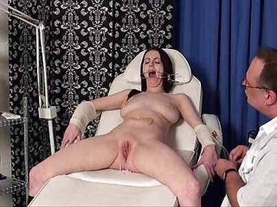 Hot daddy nurse screams in pain pussy likes to be fucked