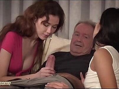 Horny Maid fucks collegegirl at her birthdays party