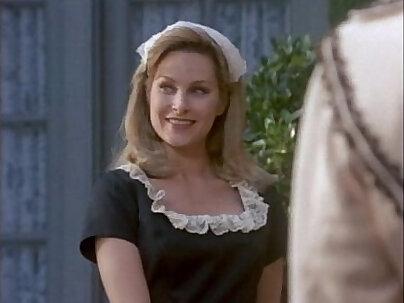 Carrie Rose dresses up in schoolgirl lingerie