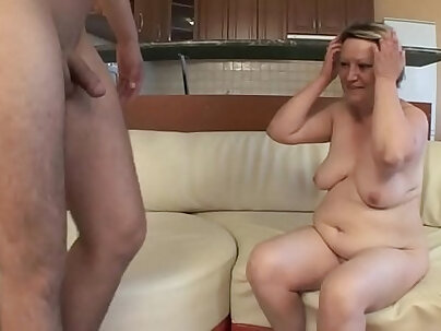 Housewife Laurie Marie fucks young guy