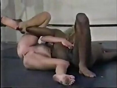 Nude tied up whore interracial scene with BBC