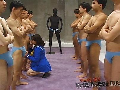 Bukkake festival Japanese uncensored bukkake