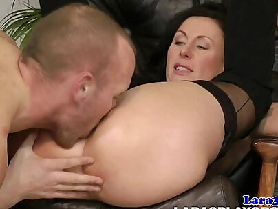 British mature cougar sweet gets her tight muff hammered