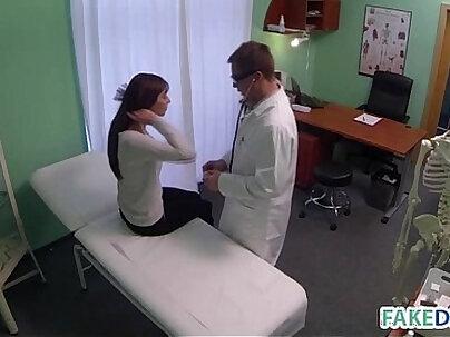 Cock suckers Caroline Knight and Katrina Red bring sexy nurse to farm for chups - Cyprus