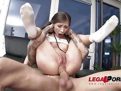 Sweet stephanie moon airtight hardcore balls deep fuck