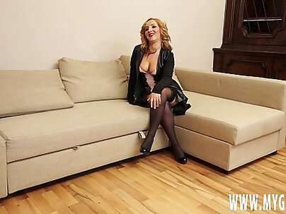 Blonde girl fucked and pissed on by her casting agent