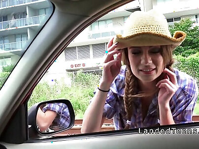 Amateur teen girl fucked in public with cocksucking like a cowgirl