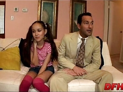 Babysitter Interracial Sex At Saloon