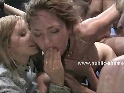 Cfnm ebonys gagging and petite sorority girl public