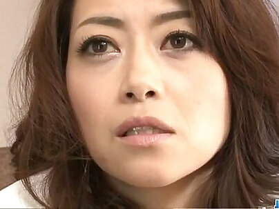 Maki Hojo amateur party with a masked stranger