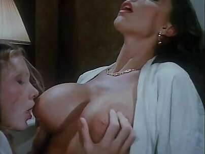 Glasgow vintage and back room lesbian threesome with two friends