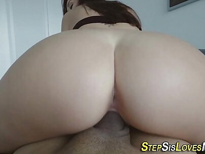 Amateur plowed and fucked POV style by intruder