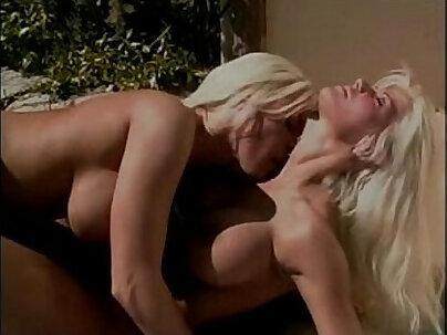 Sweet blonde sexy lesbian sex