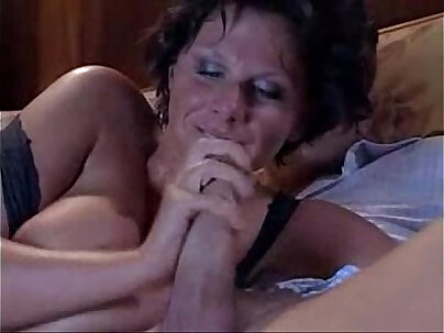 Slutty french mature gets fucked in the kitchen