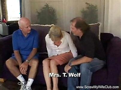 Blonde Swinger Slut Mrs. Wolf Abused