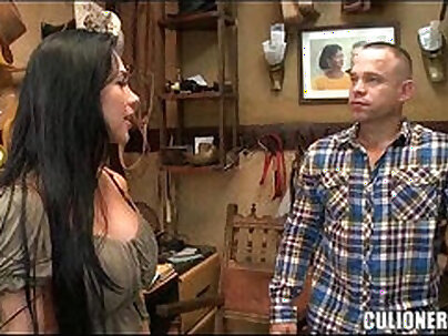 GIRLS AND PENCILITY Kira Harwood Eats Cum