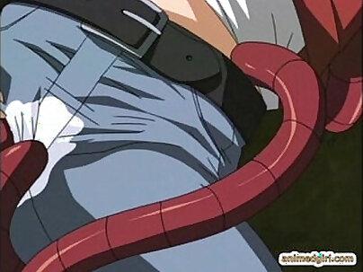 Ayaka - Back yard anime cutie sucking dick passionately