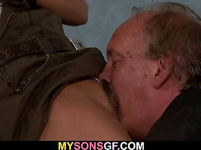 Huge dick in Lilly Blacks best girlfriends pussy for her Monsterfucked daddy