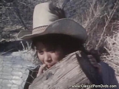 Huge Classic Riding Cowgirl