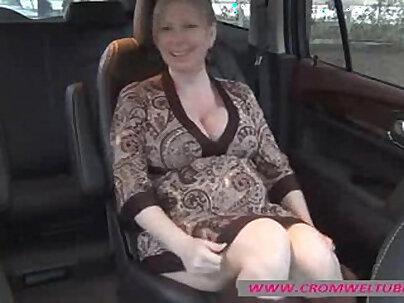 Pregnant sluts in helmet masturbation