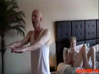 Step dad blows his scorpion