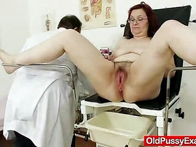 Naughty hairy friend banged dick in her doctor room