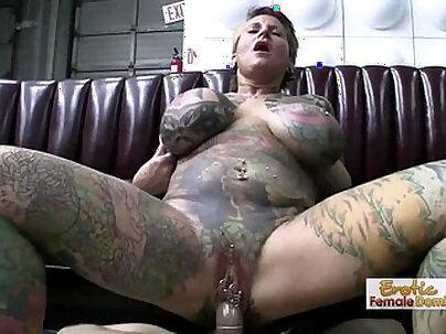 Big Tit Tattoo Milf Fucked Hardcore