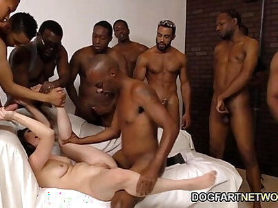 Casey Calvert Gets Assbanged By Black Guys
