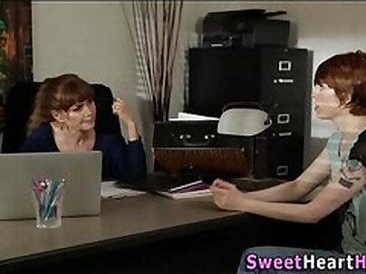 Milf Teen Girl Nicely Vs Two