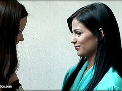 Charlotte Rains And Jacquita and Candy - Lesbian Seduction Session