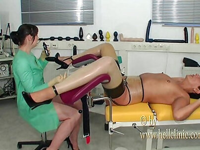 Anal fisting stimulation for chick carried