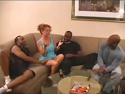 Sexy Horny Babe Gangbang with Mercy Crawford
