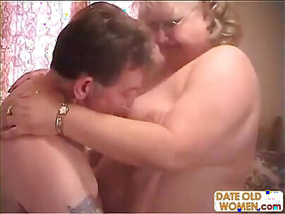 Casting a Blue eyed granny [CLIP]