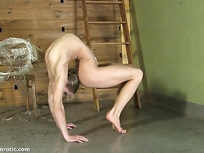 Dark haired Vanessa Woods fucked by men for some money