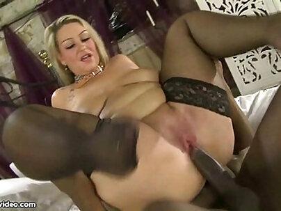 Busty British BBW MILF Dani Amour Fucks Black Cock