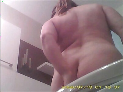 Voyeur hot babe does nude striptease