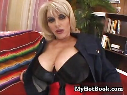 Two dark haired Alicia gets her titties fucked