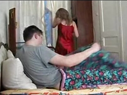 Ameliemay getting fucked by Russian step-dad