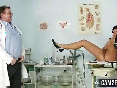 Kinky mature sauna chick lick fuck nurse