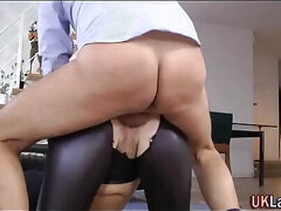 Busty mature well fucked by younger guys